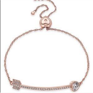 • Kate Spade • Rose Gold Arrow Slider Bracelet